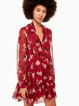Kate Spade Camelia Chiffon Mini Dress