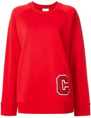 CK Calvin Klein C logo patch sweatshirt