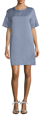 Max Mara Petalo Dropped Shoulder Shift Dress