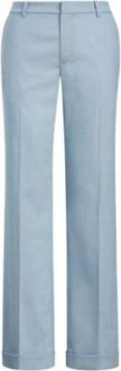 Ralph Lauren Wool-Blend Wide-Leg Trouser