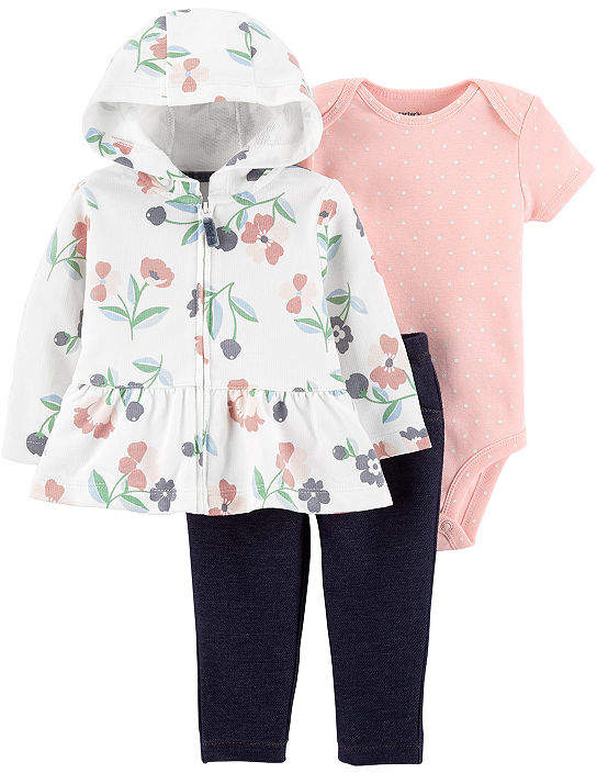CARTERS Carter's 2-pc. Bodysuit Set-Baby Girls