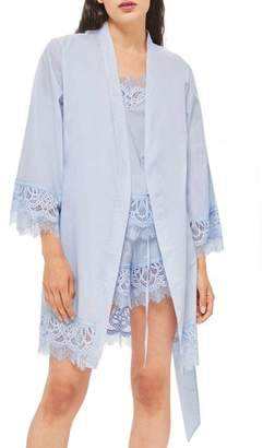 Topshop Lydia Lace Robe