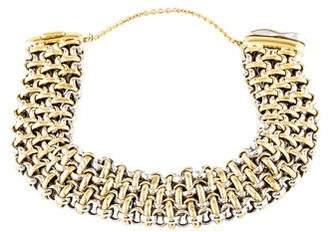 18K Two-Tone Link Bracelet