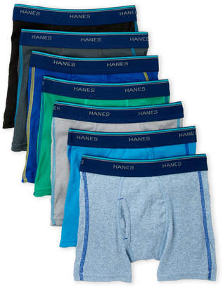 Hanes Boys 4-7) 7-Pack Tagless Boxer Briefs