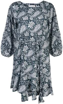 Apiece Apart floral bell sleeve dress