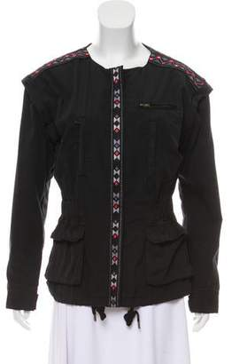 DAY Birger et Mikkelsen Embroidered Collarless Jacket