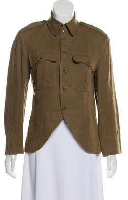 Ralph Lauren Linen Button-Up Jacket