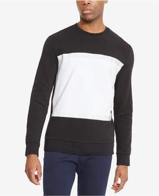 Kenneth Cole Reaction Men's Pieced Colorblocked Sweatshirt
