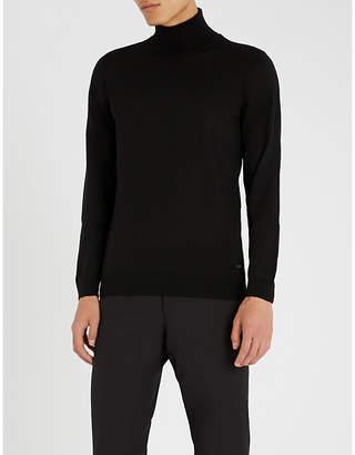BOSS Turtleneck wool jumper