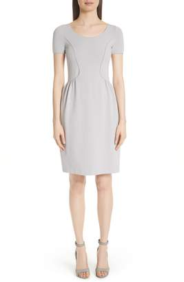 Emporio Armani Seamed Ribbed Dress