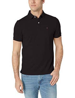 3751982d Tommy Hilfiger Men's Short Sleeve Polo Shirt in Custom Fit