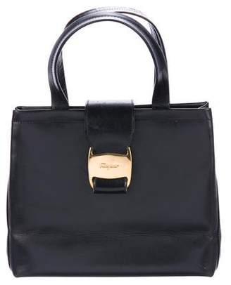 Salvatore Ferragamo Leather Small Satchel