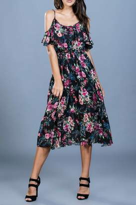 Ark & Co Floral Midi Dress