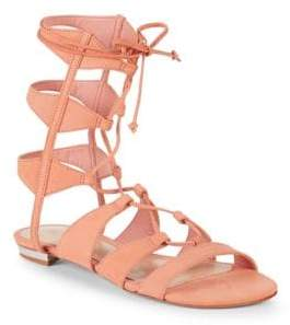 Schutz Erlina Leather Gladiator Sandals