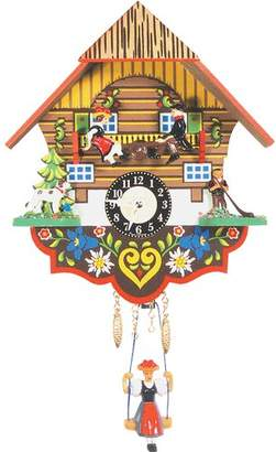 Loon Peak Battery Operated Wall Clock
