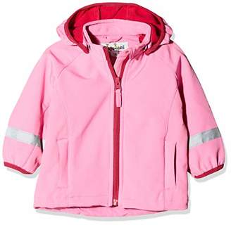 Playshoes Baby Girls' Kinder Softshell Jacke Jacket, (Pink 18), (Size: 80)