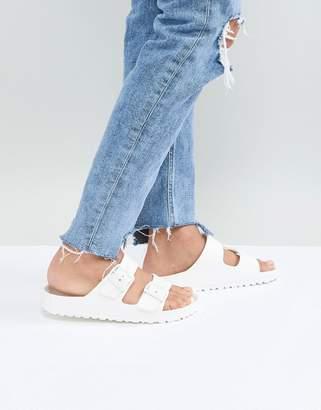 b9daa0cd6a67 Birkenstock Arizona Eva White Flat Sandals