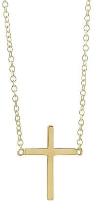 Jennifer Meyer Gold Cross Necklace