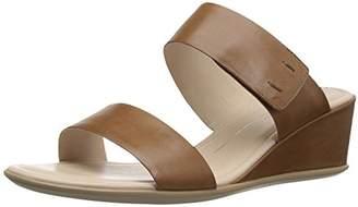 Ecco Women's Shape 35 Wedge 2-Strap Slide Sandal