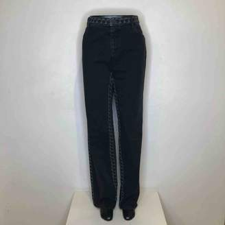 Chanel Black Cotton Jeans