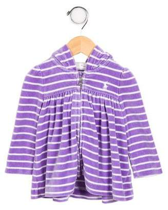 Ralph Lauren Infant Girls' Knit Hoodie Jacket