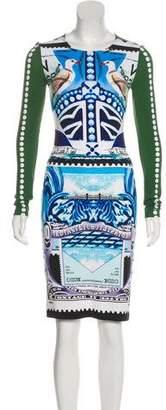 Mary Katrantzou Jersey Knee-Length Dress