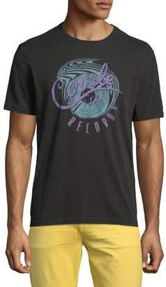 John Varvatos Men's Circle Line Graphic T-Shirt