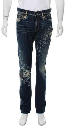 Amen Duct Tape Jeans w/ Tags