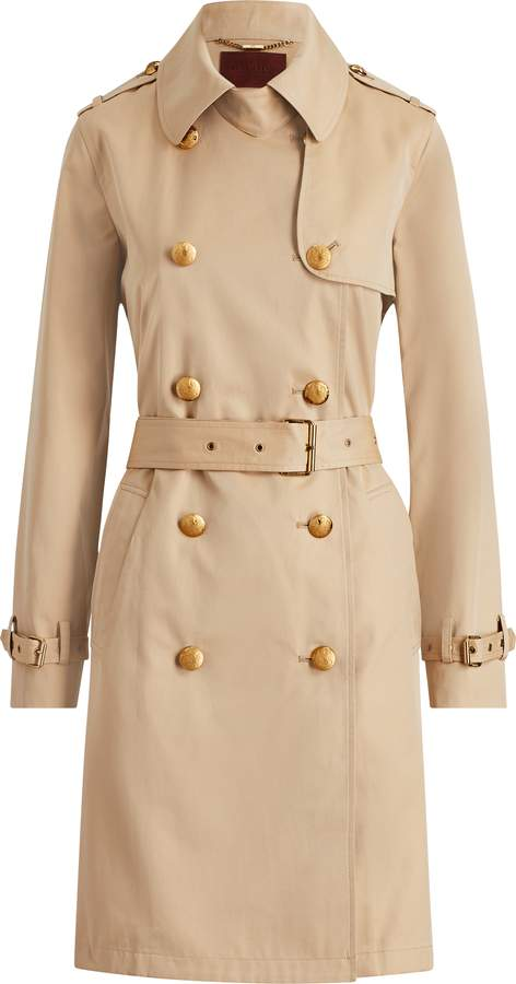 Ralph Lauren Cotton Trench Coat