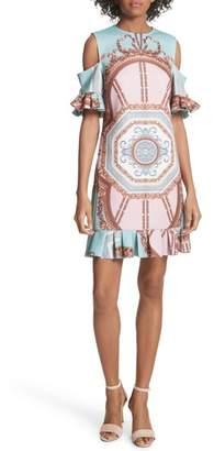 Ted Baker Norahe Versailles Cold Shoulder Dress