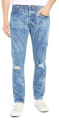 Levi's x Justin Timberlake 501(R) Distressed Slim Taper Jeans