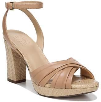 6f91808e9211 Naturalizer Brown Heel Strap Women s Sandals - ShopStyle