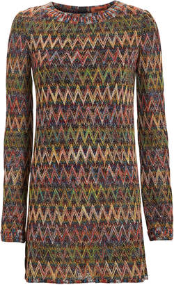 Missoni Chevron Mini Dress