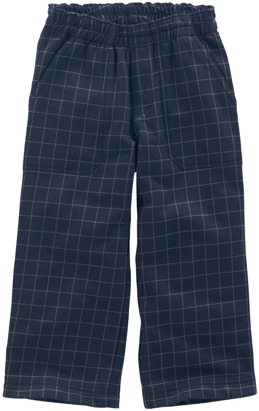 Windowpane Plaid Pants