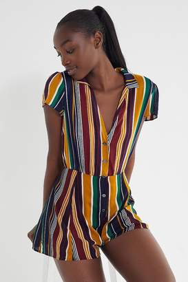 Urban Outfitters Meant To Be Button-Down Romper