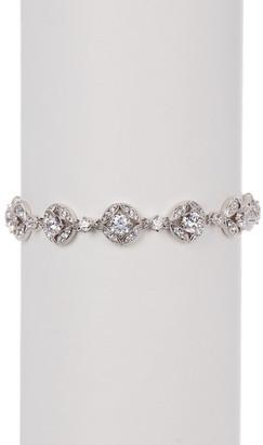 NADRI Round Crystal Stone Link Bracelet $140 thestylecure.com