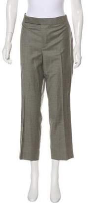 Ralph Lauren Purple Label Wool High-Rise Pants