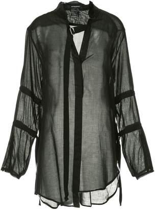 Ann Demeulemeester Tiriel sheer blouse
