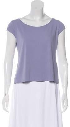 Eileen Fisher Crew Neck Short Sleeve Top