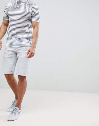 Esprit Slim Fit 5 Pocket Shorts In White
