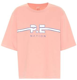 P.E Nation Active Duty cotton T-shirt