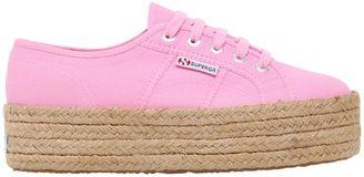 40mm 2790 Cotton Canvas Sneakers $95 thestylecure.com