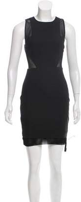 Elizabeth and James Semi Sheer Mini Dress w/ Tags