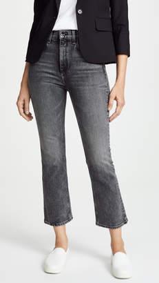 Rag & Bone The Hana Cropped High Rise Jeans
