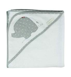 Bubba Blue Petit Elephant Hooded Towel