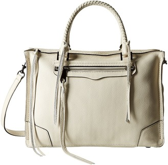 Rebecca Minkoff Regan Satchel Tote $325 thestylecure.com