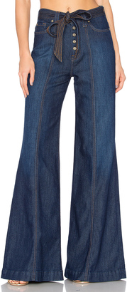 7 For All Mankind Wide Leg Lounge Pant $199 thestylecure.com