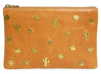 Madewell Rivet Medium Zip Pouch