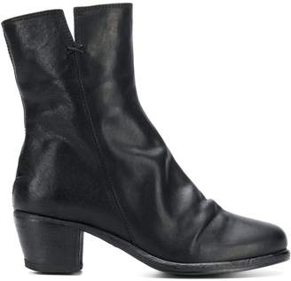 Fiorentini+Baker side zip ankle boots