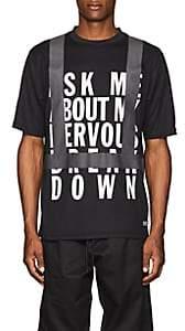 "U.P.W.W. Men's ""Crisis"" Cotton T-Shirt - Black"